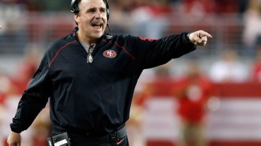 """""""Obviously Jarryd has got the body position, the balance, the leverage points, it's proven he has those"""": San Francisco 49ers head coach Jim Tomsula."""