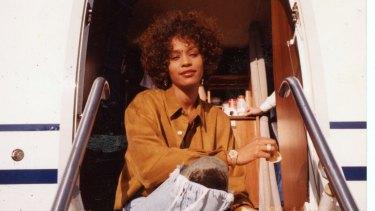 Whitney Houston: a photo from the documentary Whitney.
