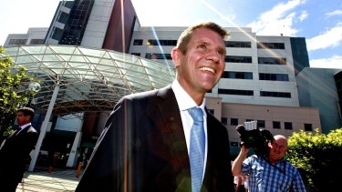 Premier Mike Baird announces a major refurbishment of the Prince Of Wales hospital at Randwick on March 16, 2015.