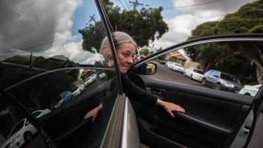 Coming out swinging: Jane Nicholls was recommended for an unrestricted drivers licence by a VicRoads-authorized occupational therapist, but had that overruled by a VicRoads staff