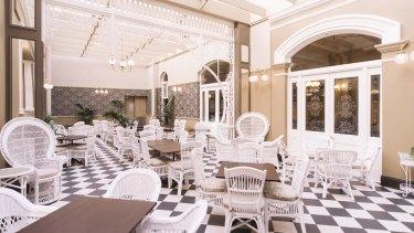 Hadley's Orient Hotel.