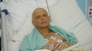 Alexander Litvinenko died on November 23, 2006 in London, from acute polonium poisoning, 22 days after two Russian contacts he met at a London hotel allegedly slipped the radioactive poison into his tea.