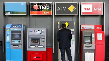 ANZ Bank group executive Fred Ohlsson says there is probably no need to have rival banks' ATMs next to each other.