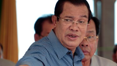 Cambodian Prime Minister Hun Sen claims a US-backed opposition-aligned conspiracy is trying to overthrow him.