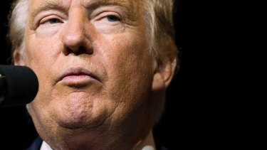 Doesn't like losing: Donald Trump.