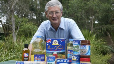 Brand Dick: Smith says that everywhere he goes, people agree with him about curbing Australia's population growth.