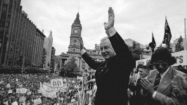 Gough Whitlam in 1975