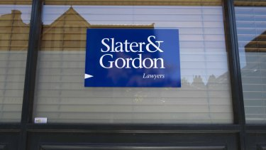 Slater and Gordon said billed revenue from its UK business was lower than anticipated but expected to be stronger in the second half.
