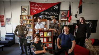 Members of the Melbourne Anarchist Club in Northcote say they will not be pushed out by developers.