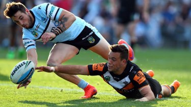 Crunch time:  Cronulla control their own destiny and need to beat Parramatta.