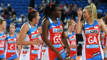 The NSW Swifts have been the best team in Super netball so far this season.