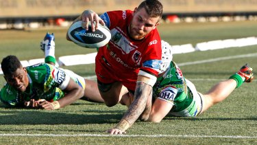 Former Raiders fullback Josh Dugan is expected to return from injury to play against his old Canberra teammates.