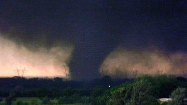 A tornado in Oklahoma in 1999.