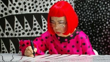 Japanese artist Yayoi Kusama.