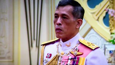 Thai King Maha Vajiralongkorn.