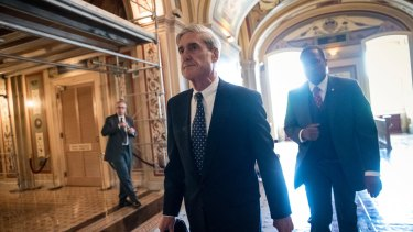 Special counsel Robert Mueller. When his inquiry reports, there is likely to be a renewed spike in American outrage towards Russia.