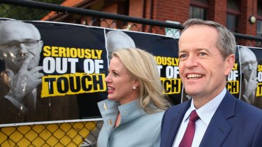 Bill Shorten, seen with his wife Chloe, is likely to send jitters through high income earners and the top end of town with his speech on Friday.