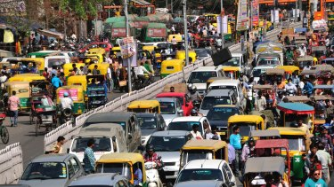 Delhi's traffic jams and road accident rate are legendary.
