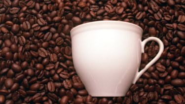 What gives coffee that unique smell?