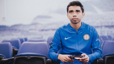 Marcus Gomes will represent Melbourne City at the FIFA Interactive World Cup in London
