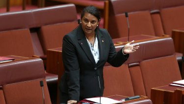 Nova Peris: Denies any wrongdoing.