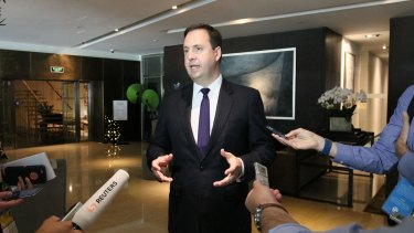 Minster of trade, tourism and investment Steven Ciobo will begin talks this week.
