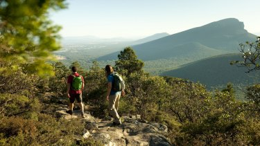 The Grampians Peaks Trail is expected to generate more than 80,000 visitor nights and an economic benefit of $6.4 million a year.