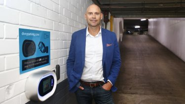 Divvy Parking CEO Nick Austin says the technology group is helping create smarter cities.