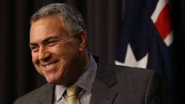 Treasurer Joe Hockey has called on households and business to use debt to fund new opportunities.