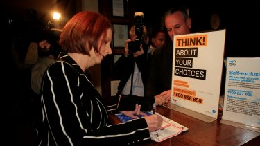 Julia Gillard never made it to her predetermined election date in 2013.