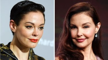 Actresses Rose McGowan and Ashley Judd were among the women named in the report.