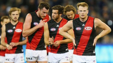 Club torn apart by doping bans: The Essendon Bombers have had their roster severely depleted in 2016.