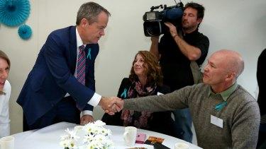Opposition Leader Bill Shorten in Melbourne on Wednesday.