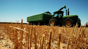 Modern farming requires lots of data in remote areas, according to president of the National Farmers' Federation, Brent Finlay.