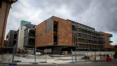 The new Sir Zelman Cowen Centre for Science at Scotch College.