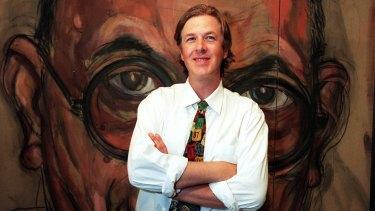 Lewis Miller won the 1998 Archibald Prize with his Portrait of Allan Mitelman No 3.