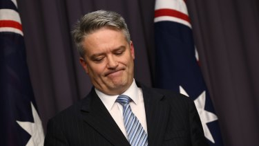 """We don't believe it is sensible to pursue so called stimulus spending,"" says Finance Minister Mathias Cormann."
