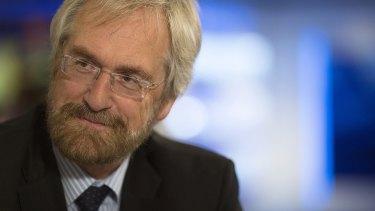Peter Praet, head of the economics division for European Central Bank.