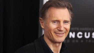 A new romance: Liam Neeson.