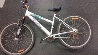 Police released an image of the bike.