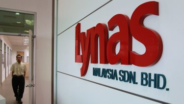 Lynas is now the only rare earths miner outside China, which controls about 90 percent of the world's supply.