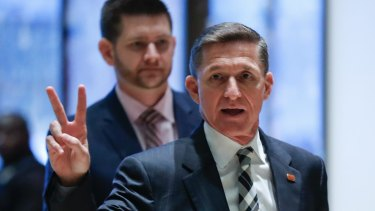 Retired general Michael Flynn, Trump's national security adviser, travelled to Russia last year for a gala sponsored by the network, RT.
