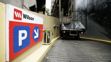 Wilson Parking appears to suffer from high costs.