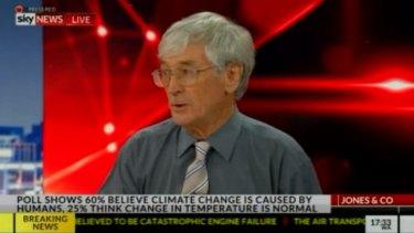 Entrepreneur Dick Smith appears on Sky News on Tuesday night.