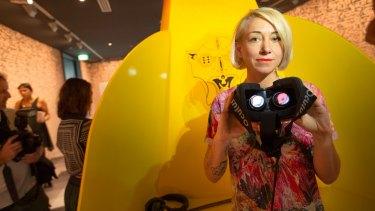 Jess Johnson's new exhibition Wurm Haus uses virtual reality gaming technology.
