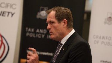 Chris Jordan, commissioner of Australian Tax Office.