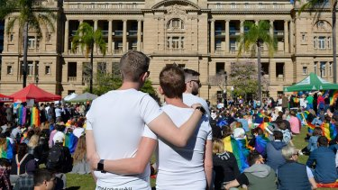 Since 2006, the first time same-sex relationships were included as an option, there has been an 81 per cent rise.