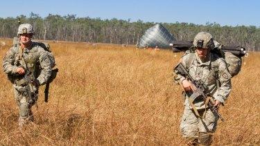 Service members from 4th Brigade Combat Team