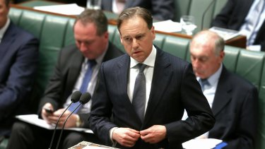 NSW government abandons environmental sanctuaries: Environment Minister Greg Hunt.