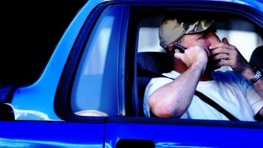 Drivers using phones behind the wheel is also a major concern.